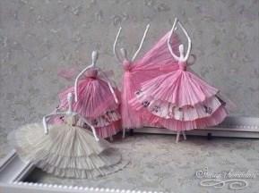 Napkin ballerina's 01