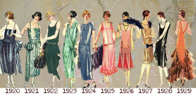 Flapper roaring twenties