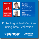 StarWind Free Webinars, Protecting Virtual Machines, Building Hyper-V Cluster and Building Scale-Out File Server Without JBODs #HyperV #StarWind