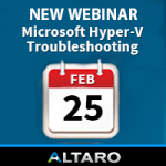 Free Webinar: Troubleshooting #Microsoft #HyperV – 4 Tales from the Trenches