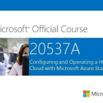 Technical Reviewer: Microsoft Official Courseware 20537A – Configuring and Operating a Hybrid Cloud with #Microsoft #AzureStack