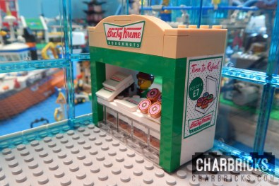 Custom MOC Lego Krispy Kreme Donut by CharBricks charlotteslego