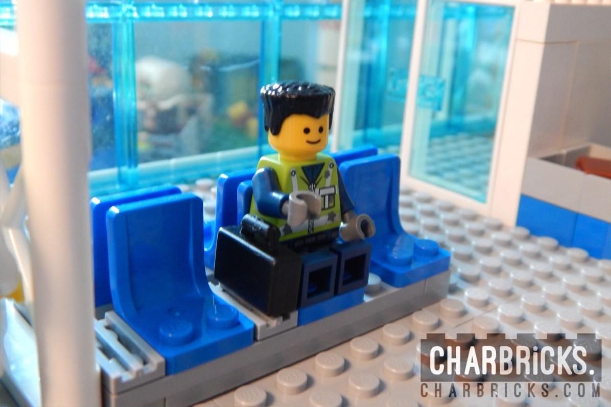 Custom MOC Lego Airport by CharBricks charlotteslego