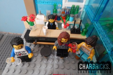 Custom MOC Lego Bar by CharBricks charlotteslego