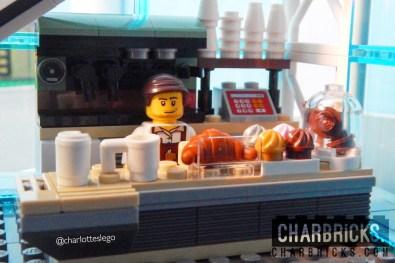 Custom MOC Lego Coffee Stall by CharBricks charlotteslego