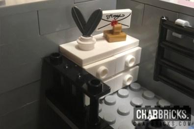 Custom MOC Lego Modular Writing Desk by CharBricks charlotteslego