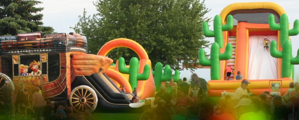 GIANT Inflatables - Fridays & Saturdays (weather permitting)