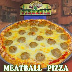 Pizzeria Special - Meatball Pizza