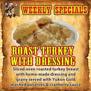 Roast Turkey with Dressing