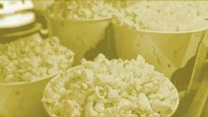 Fresh Popcorn w Butter