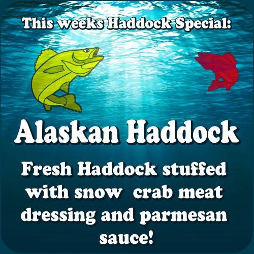 Alaskan Haddock - This Weeks Haddock Special