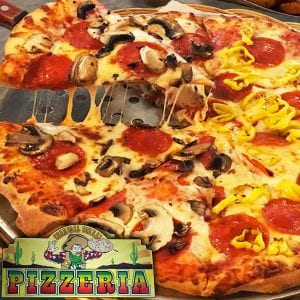 Charcoal Corral Pizzeria - Hot & Gooey Cheese