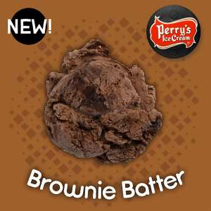 Brownie Batter Ice Cream - Perry's Ice Cream