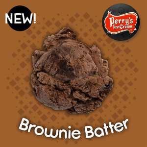 Brownie Batter Ice Cream - Perry's Ice Cream