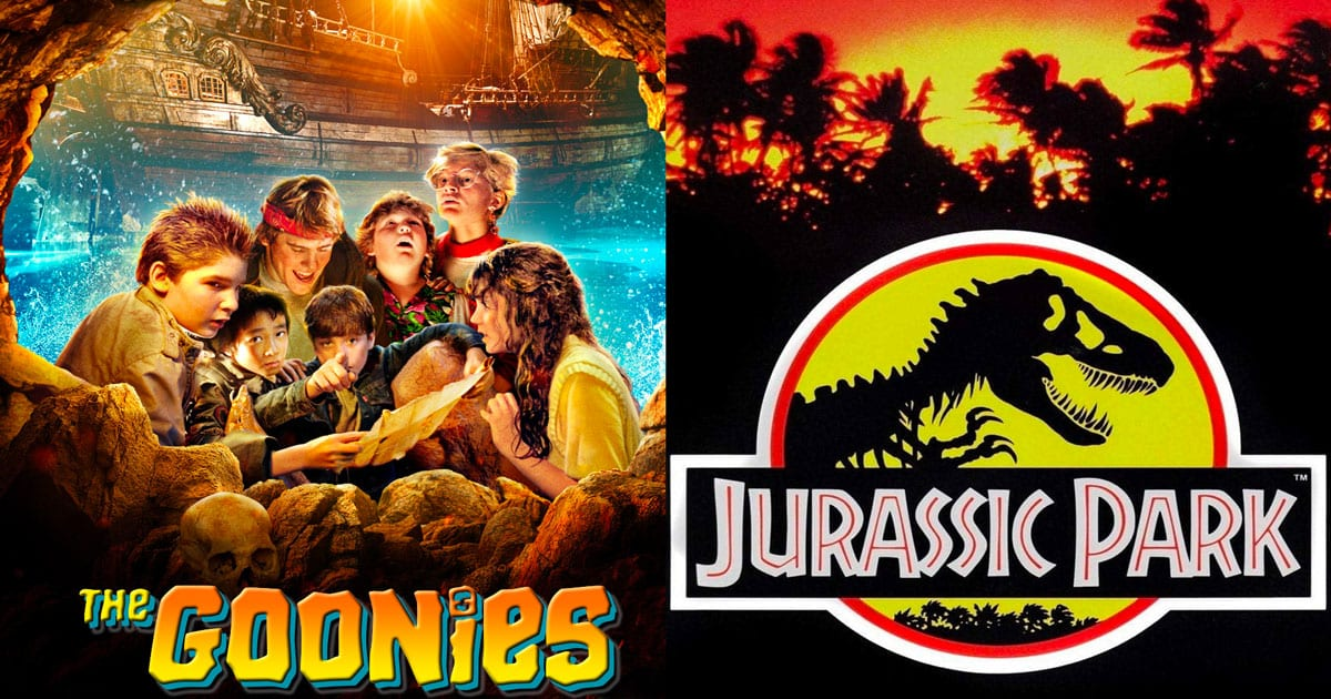 The Goonies with Jurassic Park