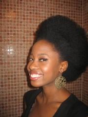 natural hair charcoal