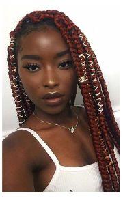 box braid hairstyle ve