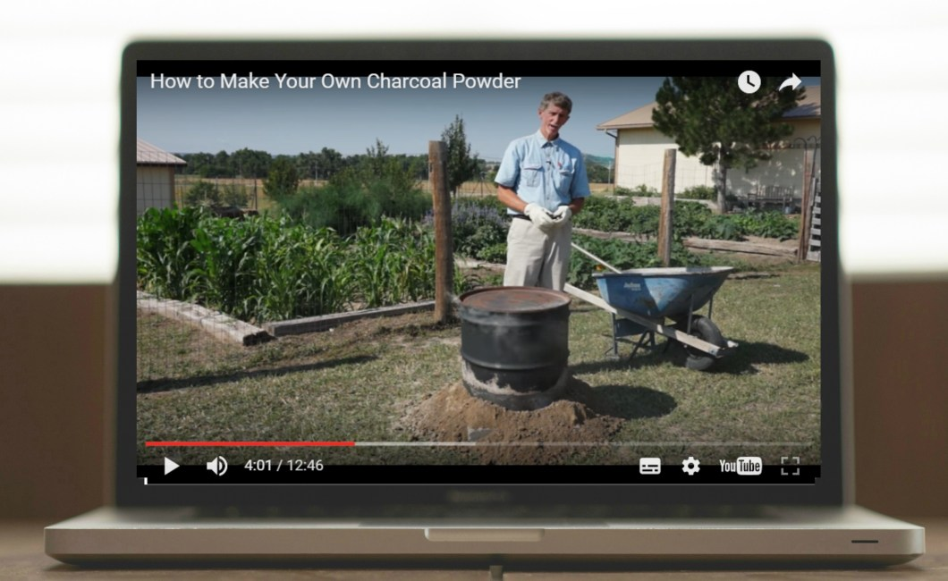 Video How To Make Your Own Charcoal Powder Charcoal