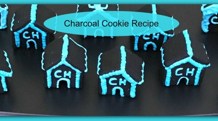 Recipe, Charcoal Detox Sugar Cookies