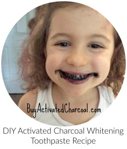 DIY activated charcoal whitening toothpaste recipe oil pulling - Lets Share, Activated Charcoal & You