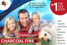 Charcoal First Campaign - Charcoal Salve Stick for Life's Little Emergencies