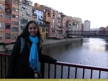 Con el rio de Girona