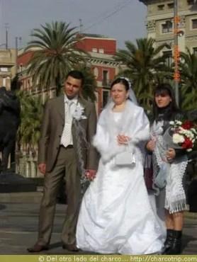 Recien Casados en Barcelona