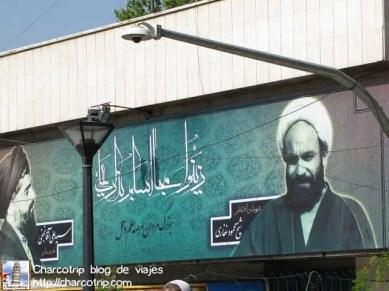 Propaganda politica o religiosa en Teheran