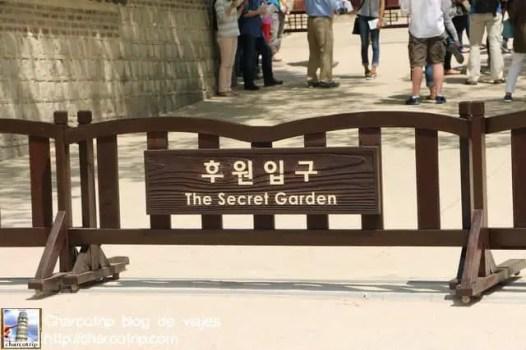 La entrada al Biwon