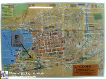 Mapa de Como