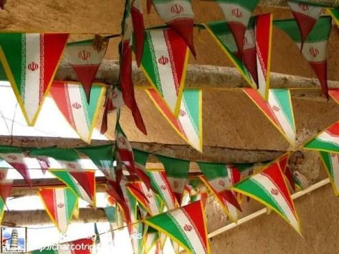 Me recordó un poco a la fiesta de banderas que hacemos para el día de la independencia en México