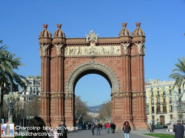 Bonito Arco del Triunfo