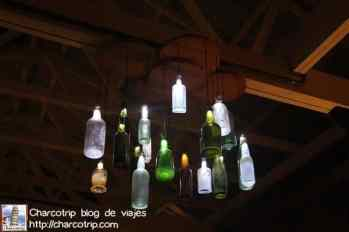Botellas lamparas