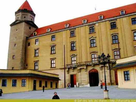 La entrada del castillo