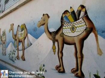 Los camellos, bastante lindos, pero detalle gracioso: no vimos ningun camello en Yazd