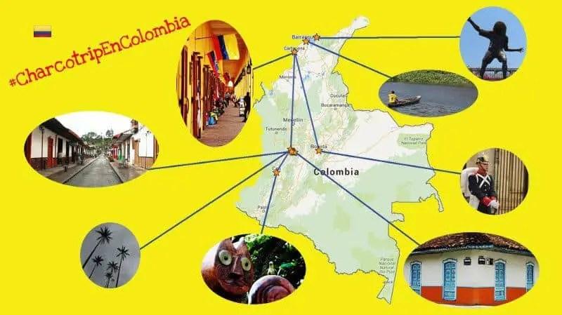Itinerario de 12 dias por Colombia