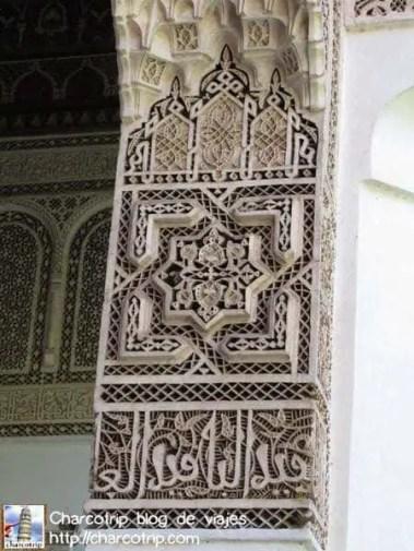 columna-palacio-bahia-marrakech