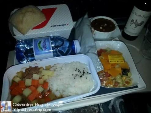 comida-vuelo-tokio