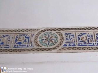detalle-pared-palacio-bahia-marrakech