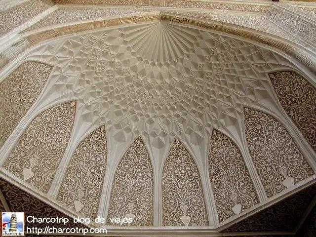Bellos detalles del edificio que alberga el museo