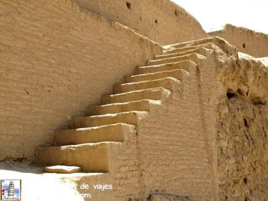 Escaleras de adobe