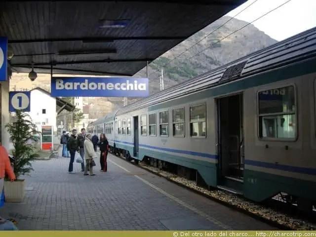 Llegamos a Bardonecchia
