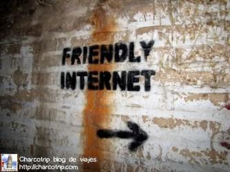 Internet amigable por aca