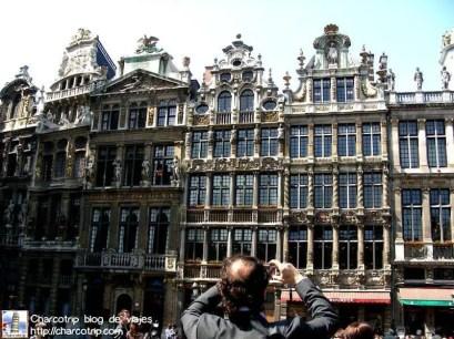 Las casas de la Grand Place