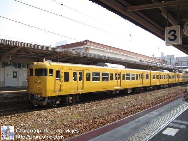 Trenes regionales, no es el shinkansen pero son limpios y ordenados también