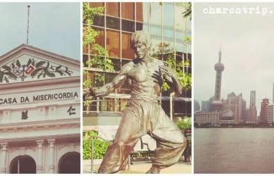 Hong Kong - Macau - Shanghai