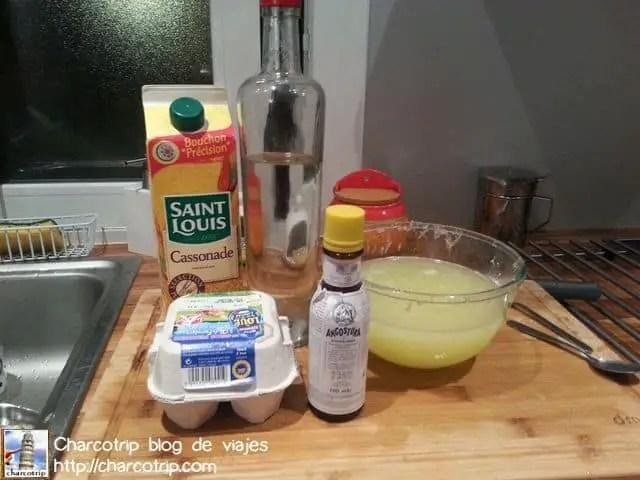 Ingredientes listos
