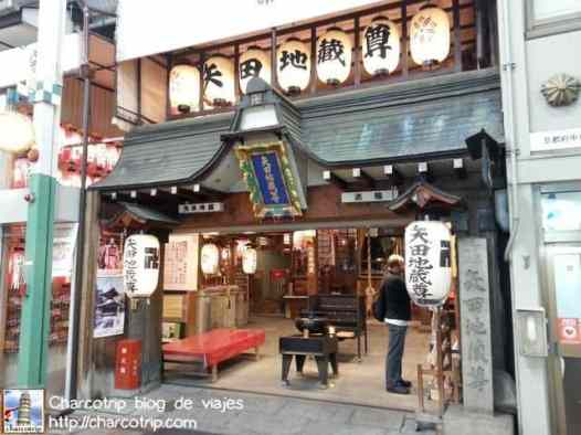 Y de nuevo: templos entre tiendas