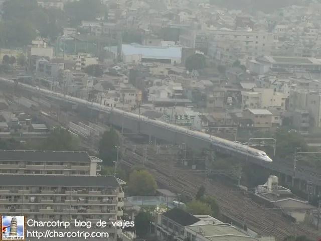 Y ahi viene el shinkansen