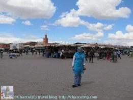 La plaza y yo